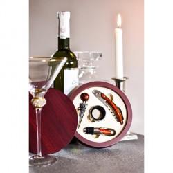 Zestaw do wina Limoges, bordowy