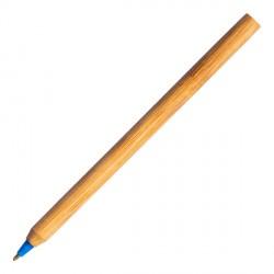 Długopis bambusowy Chavez, niebieski
