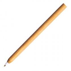 Długopis bambusowy Chavez, biały