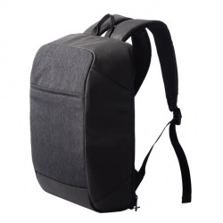 Plecak usztywniany na laptop Indio, grafitowy