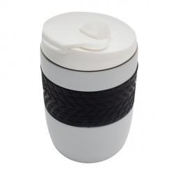 Kubek izotermiczny Offroader 200 ml, złamana biel - druga jakość