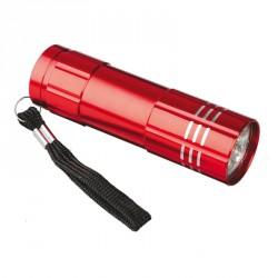 Latarka LED Jewel, czerwony - druga jakość
