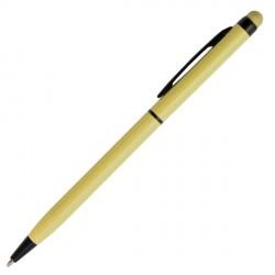Długopis dotykowy Touch Top, żółty - druga jakość