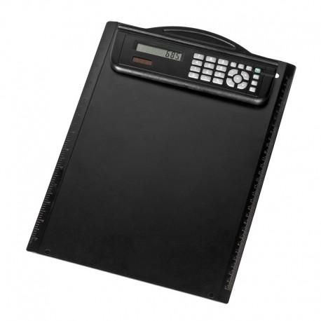 Podkładka z kalkulatorem Meetingmate, czarny