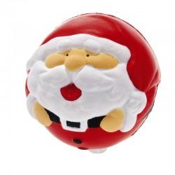"""Antystres """"Mikołaj"""", czerwony/biały"""