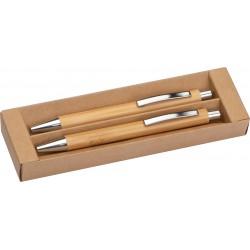 Zestaw piśmienny z bambusa