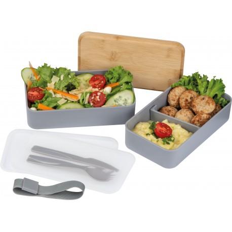 Lunchbox z dwiema przegródkami