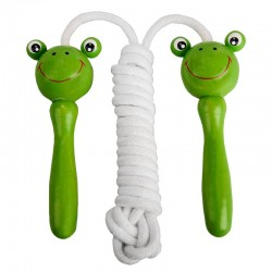Skakanka Froggy, biały/zielony