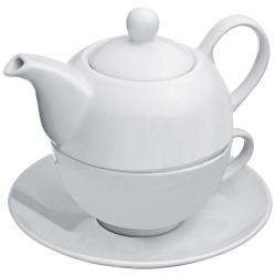 Czajnik i filiżanka do herbaty