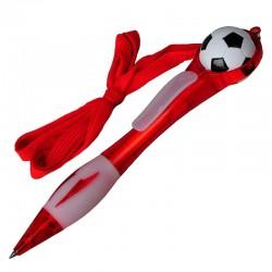Długopis Soccer, czerwony