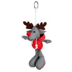 Brelok odblaskowy Reindeer, szary