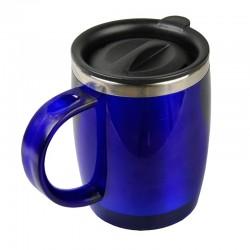 Kubek izotermiczny Barrel 400 ml, niebieski
